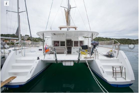Used Sail Catamaran for Sale 2014 Lagoon 450 Additional Information