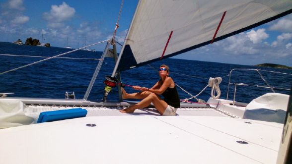 Used Sail Catamaran for Sale 2013 Leopard 48 Sails & Rigging