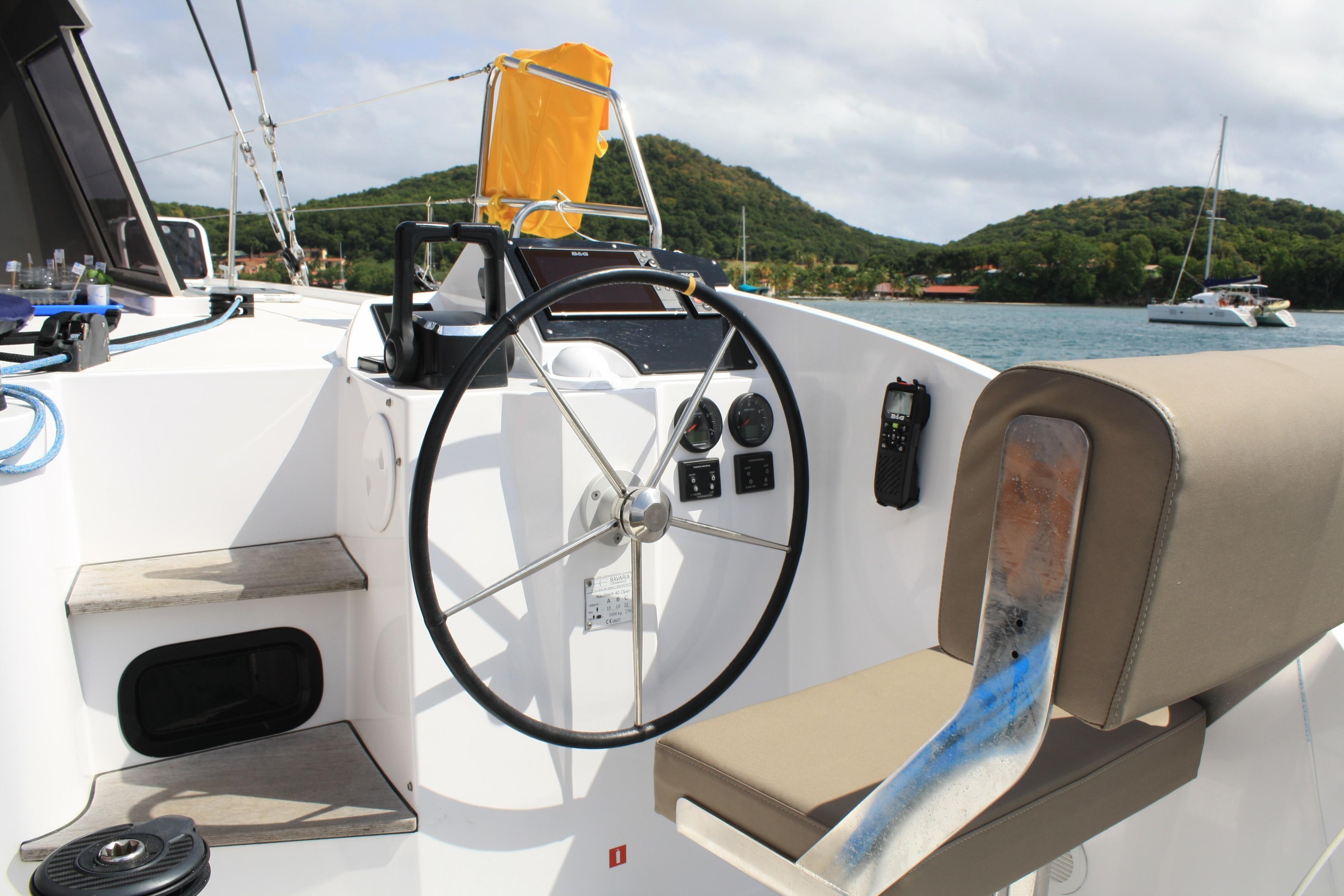 Used Sail Catamaran for Sale 2019 Nautitech 40 Open Electronics & Navigation