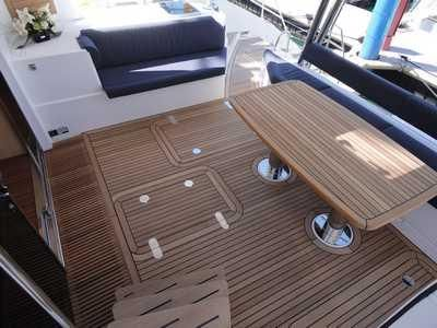 Used Sail Catamaran for Sale 2014 Privilege 515 Layout & Accommodations
