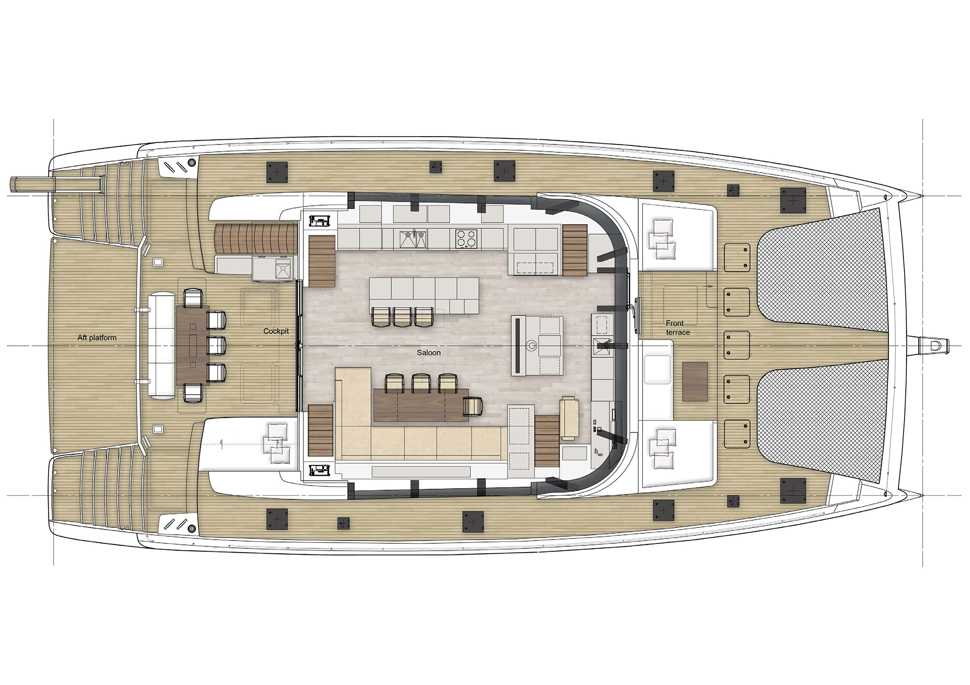 Launched Sail  for Sale  Sunreef 80 Boat Highlights