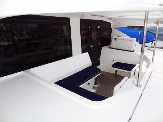 Used Sail Catamaran for Sale 2016 Leopard 48 Crewed Version Deck & Equipment