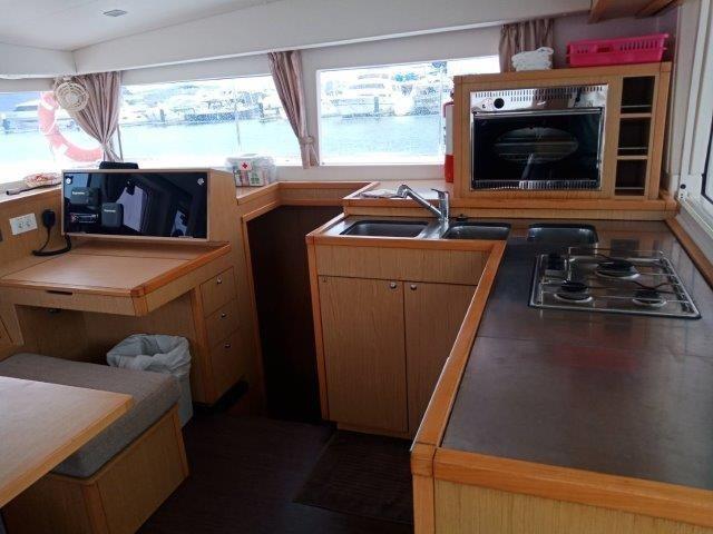 Used Sail Catamaran for Sale 2013 Lagoon 400 S2 Galley