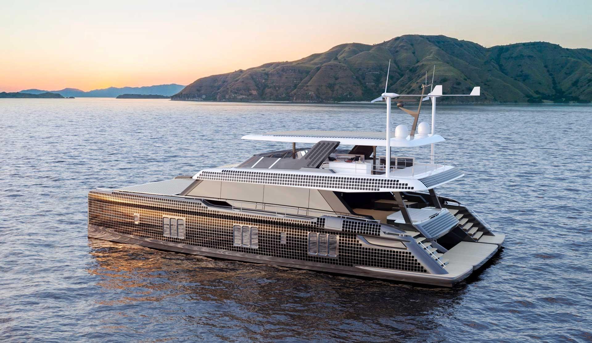 New Power Catamaran for Sale  Sunreef 80 Power Eco Boat Highlights