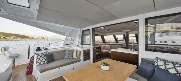 New Sail Catamaran for Sale 2020 Nautitech 46 Open Deck & Equipment