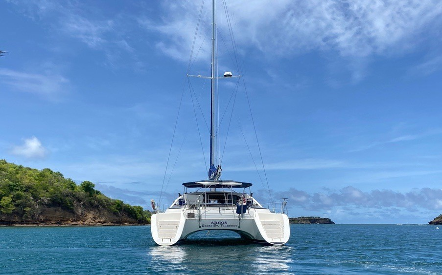 Used Sail Catamaran for Sale 2002 Privilege 435 Additional Information