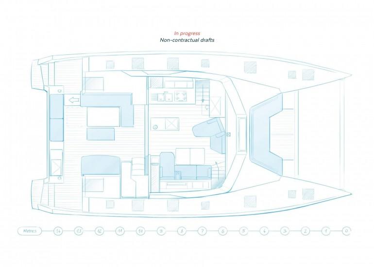 New Sail Catamaran for Sale 2022 NEW 51 Boat Highlights