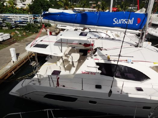 Used Sail Catamaran for Sale 2015 Leopard 44 Boat Highlights