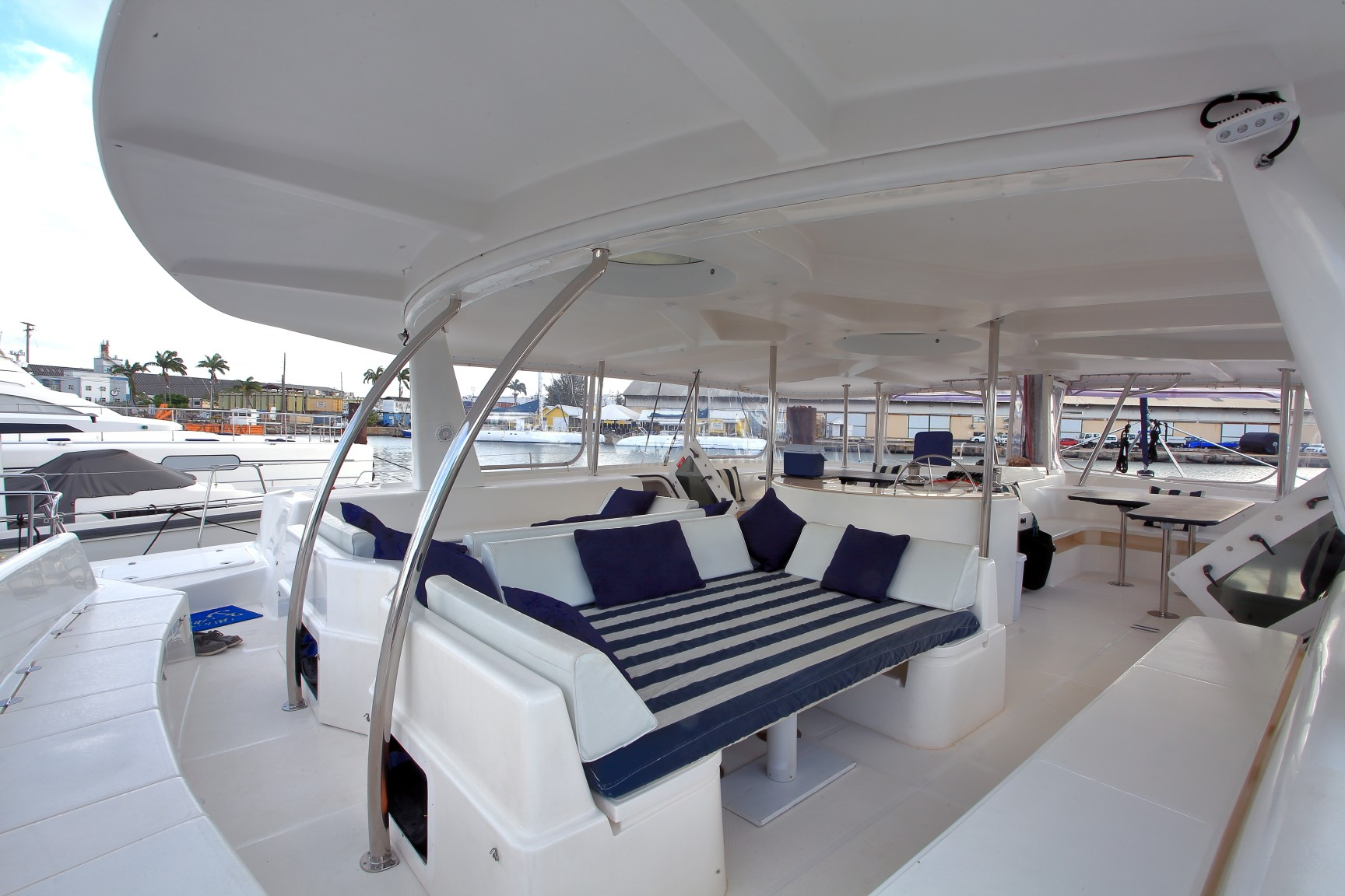 Used Sail Catamaran for Sale 2012 Voyage 520 DC Deck & Equipment