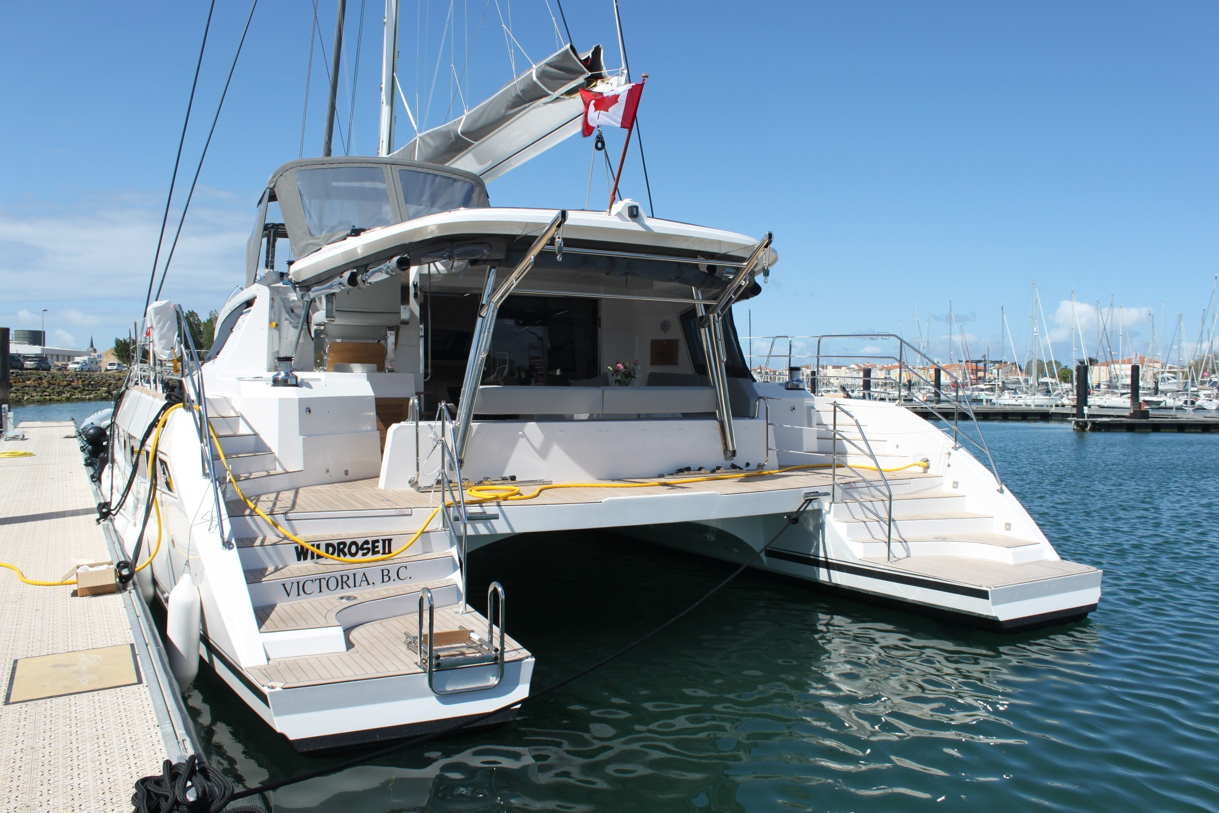 Used Sail Catamaran for Sale 2019 Series 5 Boat Highlights