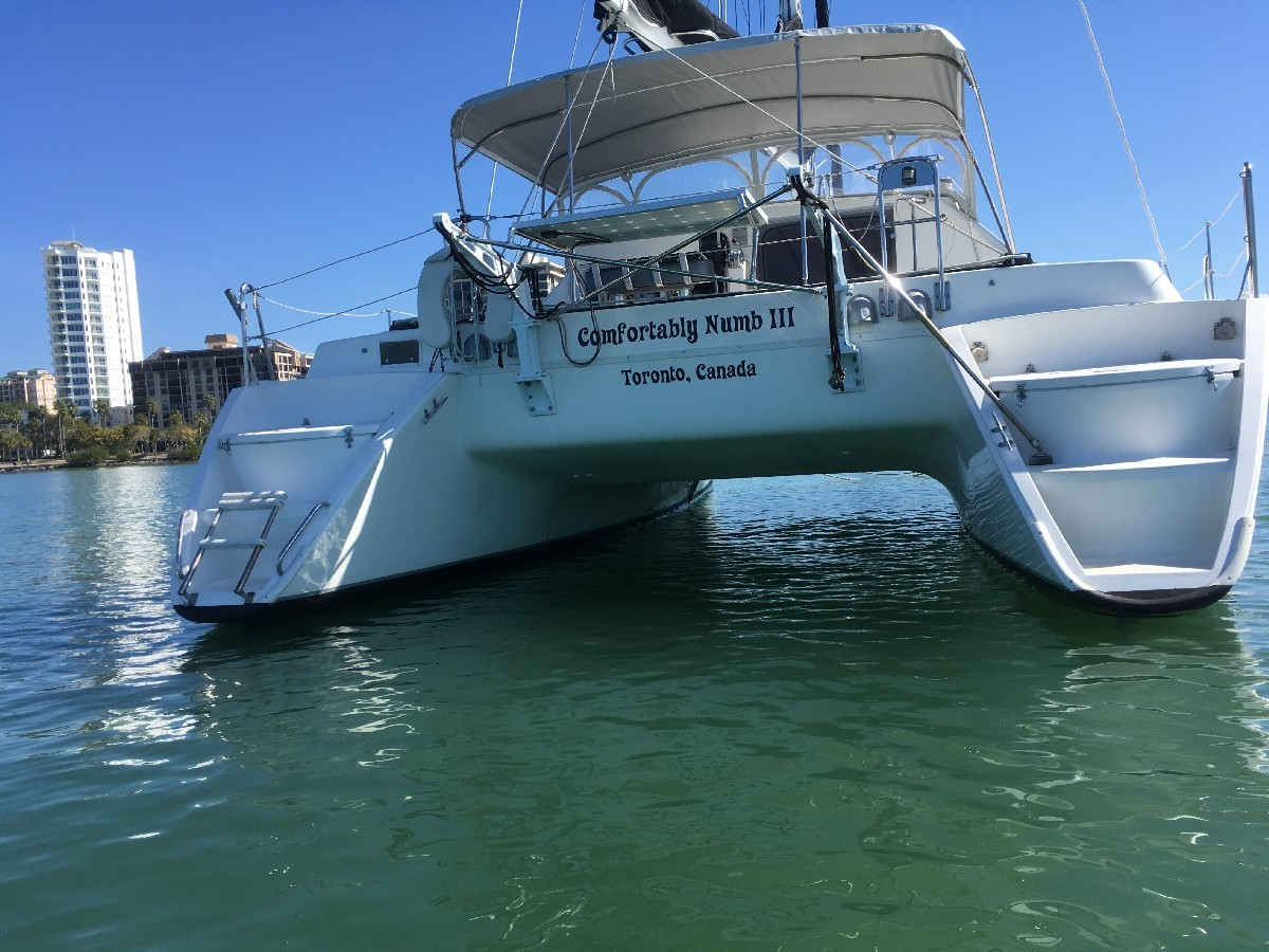 Used Sail Catamaran for Sale 1993 Lagoon 37 TPI  Boat Highlights