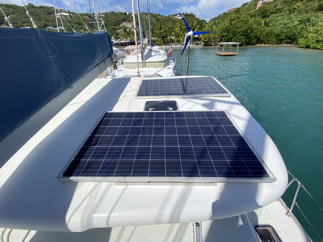 Used Sail Catamaran for Sale 2001 Lagoon 410 Deck & Equipment