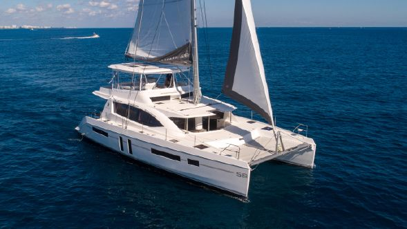 Used Sail Catamaran for Sale 2019 Leopard 58 Boat Highlights