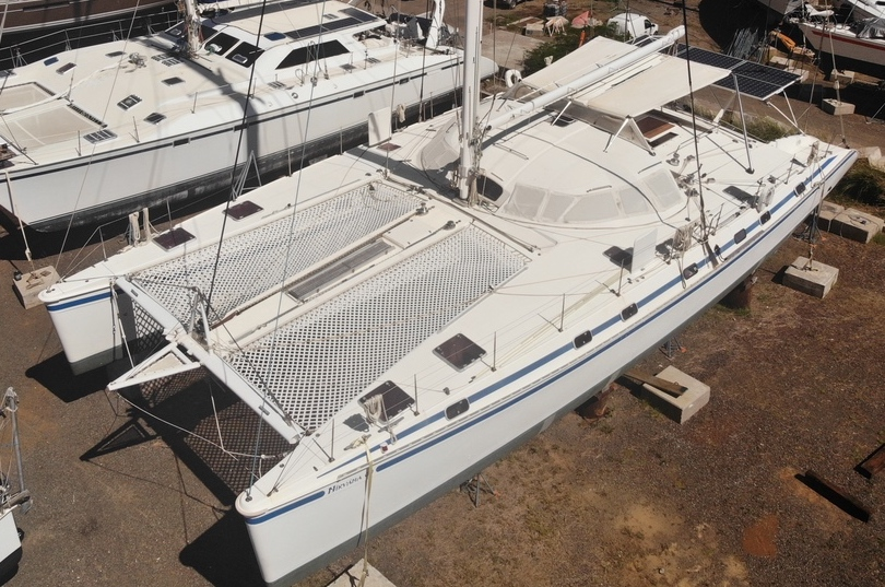 Used Sail Catamaran for Sale 1998 Outremer 64L Boat Highlights