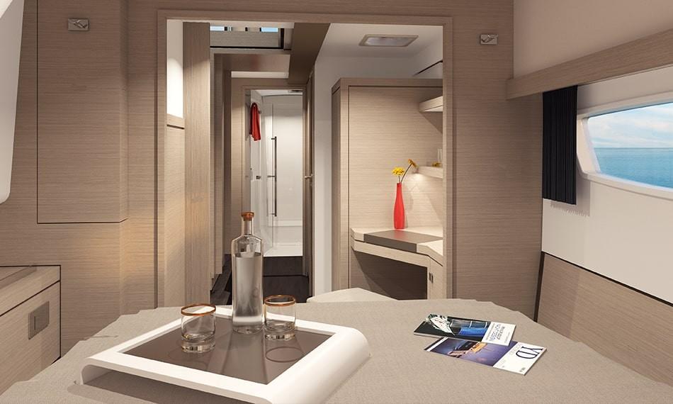 New Sail Catamaran for Sale 2021 ISLA 40 Layout & Accommodations
