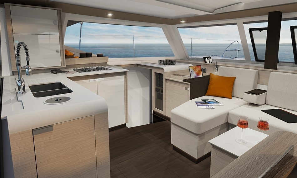 New Sail Catamaran for Sale 2021 ISLA 40 Galley