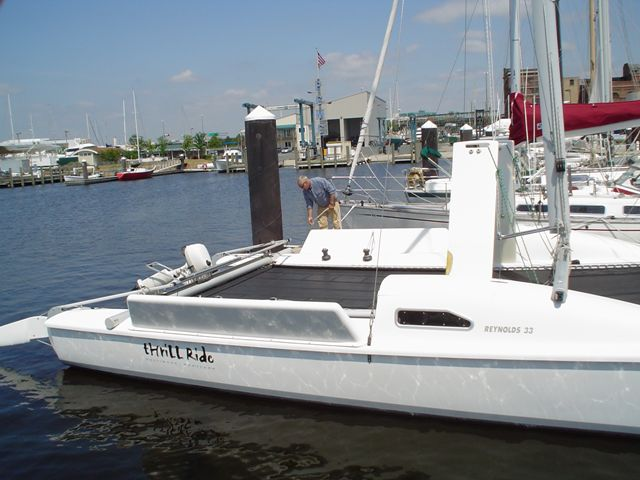 Preowned Sail Catamarans for Sale 2004 Reynolds Boat Highlights