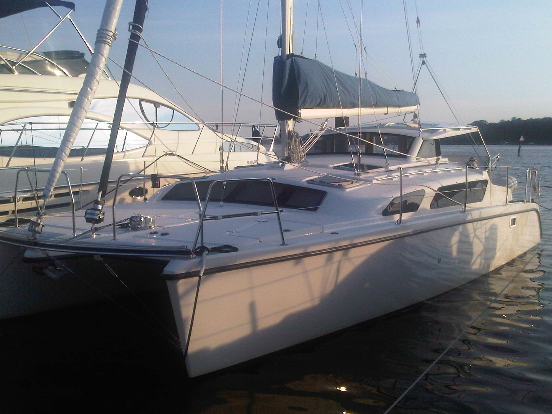 Used Sail Catamaran for Sale 2010 Gemini 105Mc Boat Highlights