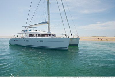 Preowned Sail Catamarans for Sale 2009 Lagoon 620  Boat Highlights