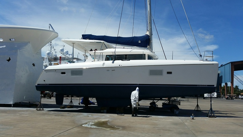 Used Sail Catamaran for Sale 2008 Lagoon 420 Boat Highlights
