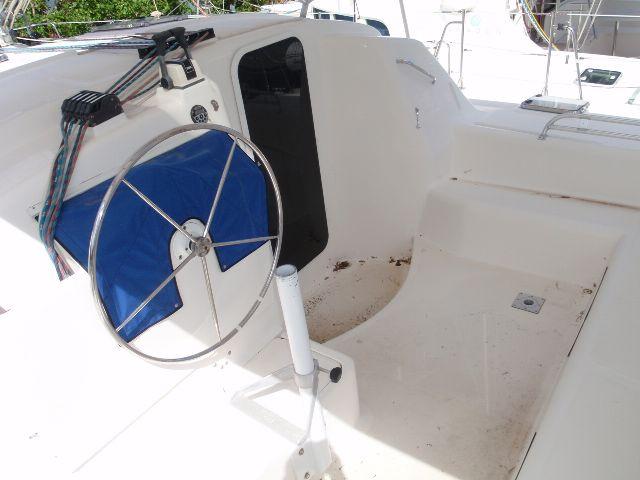 Used Sail Catamaran for Sale 2006 Manta MK II Deck & Equipment
