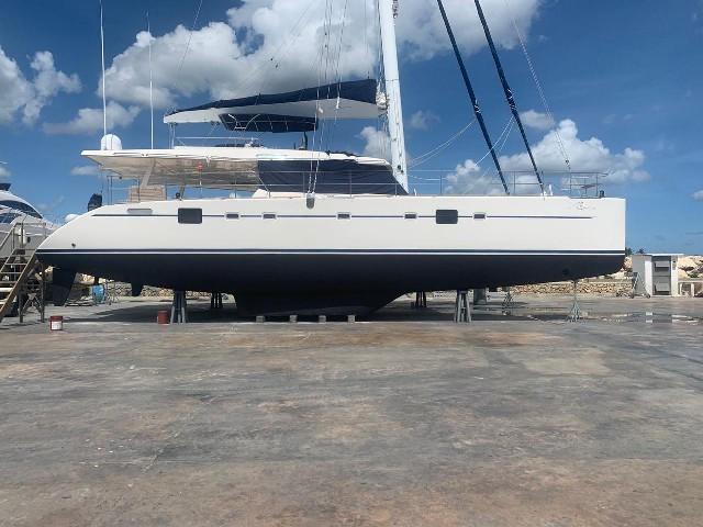 Used Sail Catamaran for Sale 2009 Sunreef 62 Boat Highlights