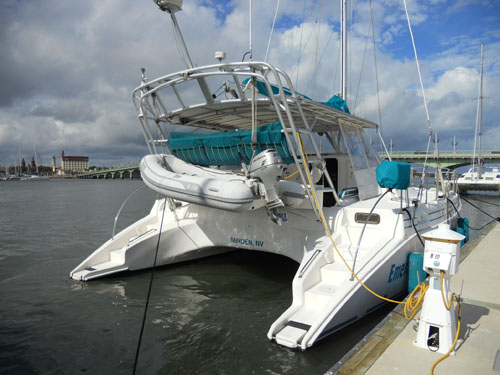 Used Sail Catamaran for Sale 2004 Manta MK II Boat Highlights