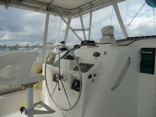 Used Sail Catamaran for Sale 2004 Manta MK II Deck & Equipment