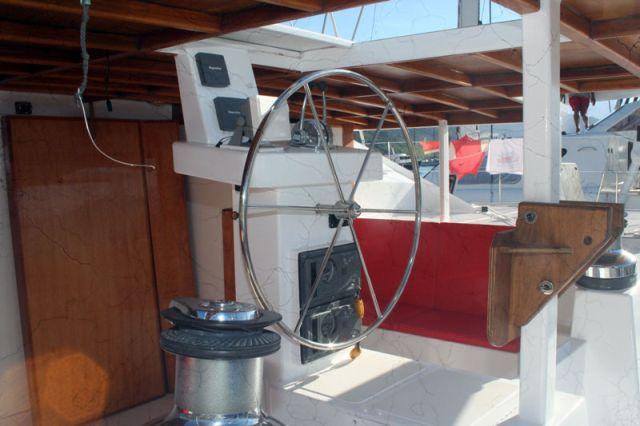 Preowned Sail Catamarans for Sale 2004 Custom 62 Deck & Equipment