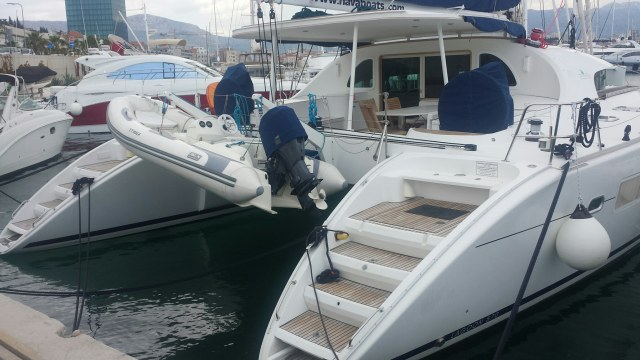 Preowned Sail Catamarans for Sale 2008 Lagoon 570 Boat Highlights
