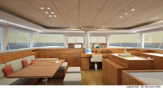 New Sail Catamarans for Sale  Lagoon 560 Layout & Accommodations