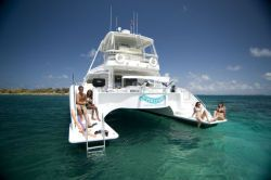 Used Power Catamaran for Sale 2006 Powerplay 52 Boat Highlights