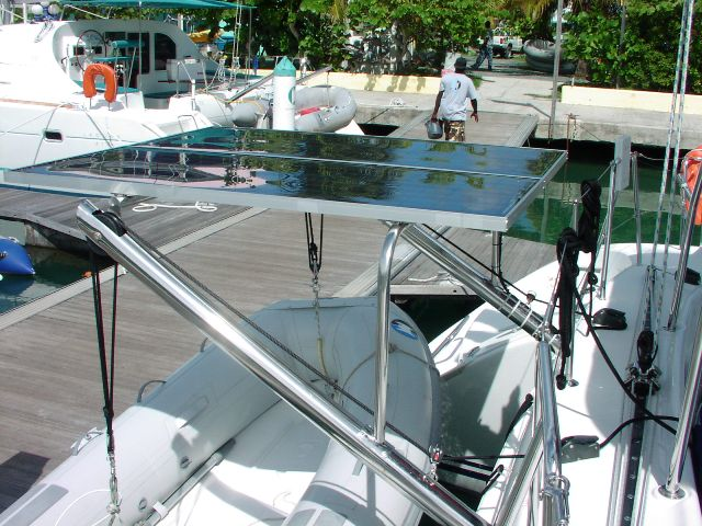 Used Sail Catamaran for Sale 2005 Lagoon 380 S2 Deck & Equipment
