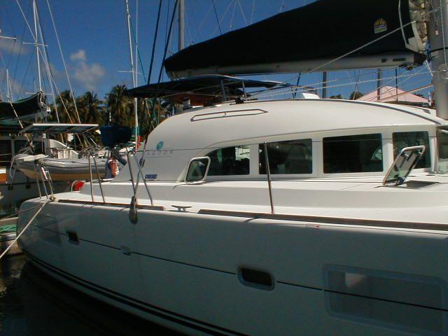 Used Sail Catamaran for Sale 2005 Lagoon 380 S2 Boat Highlights
