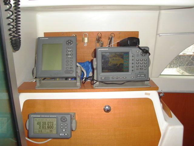 Preowned Sail Catamarans for Sale 2001 Lagoon 380 Electronics & Navigation