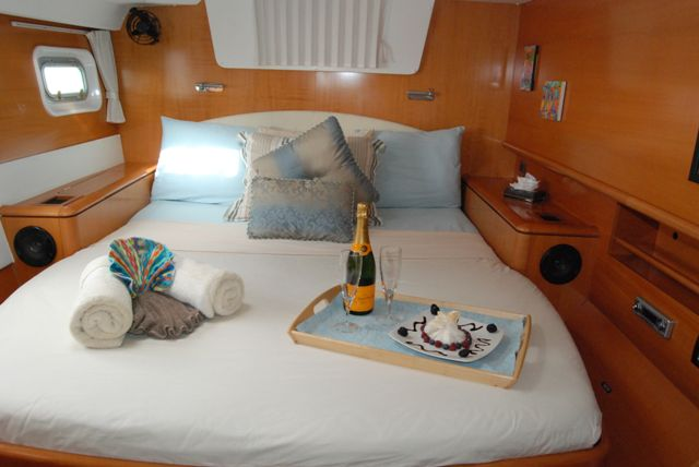 Preowned Sail Catamarans for Sale 2007 Lagoon 500 Layout & Accommodations