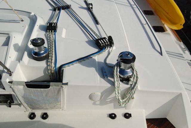 Preowned Sail Catamarans for Sale 2007 Lagoon 500 Deck & Equipment