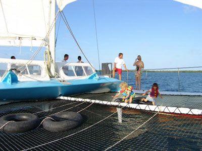 Used Sail Catamaran for Sale 1984 Day Sail Charter 50 Deck & Equipment