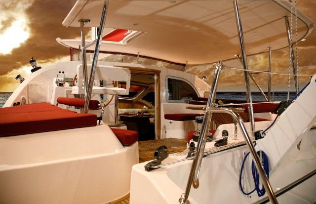 Used Sail Catamaran for Sale 2008 Privilege 495 Boat Highlights