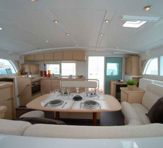 Preowned Sail Catamarans for Sale 2007 Lagoon 440 Layout & Accommodations