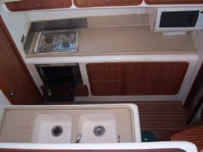 Preowned Sail Catamarans for Sale 2005 Dean 440 Galley