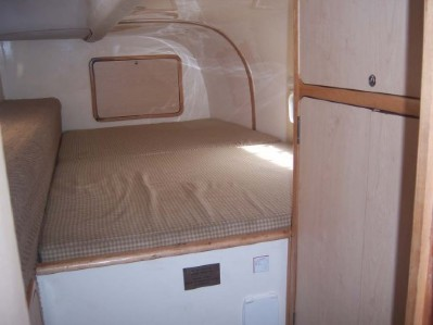 Preowned Sail Catamarans for Sale 2005 Dean 440 Layout & Accommodations