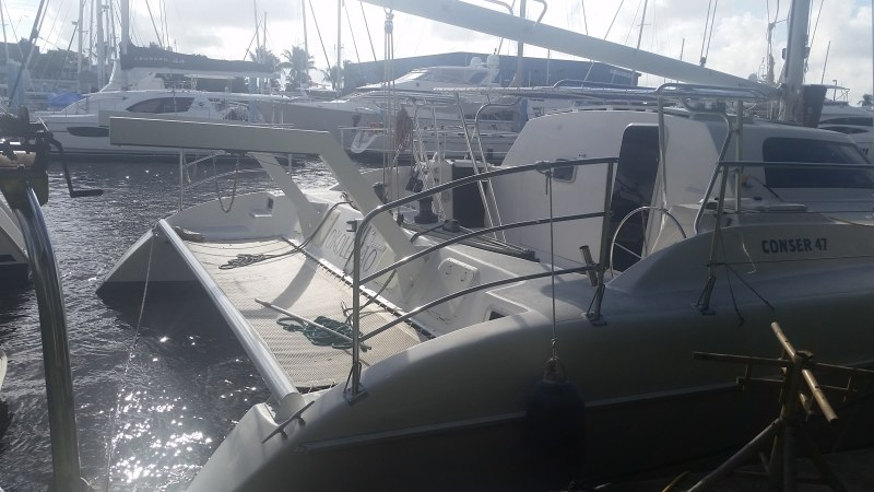Preowned Sail Catamarans for Sale 2001 Conser 47 Boat Highlights