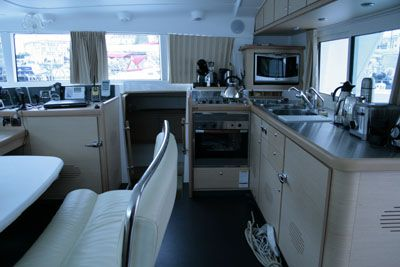 Preowned Sail Catamarans for Sale 2007 Lagoon 440 Galley