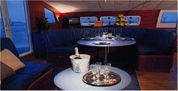 Preowned Sail Catamarans for Sale 1999 Marquises 56 Layout & Accommodations