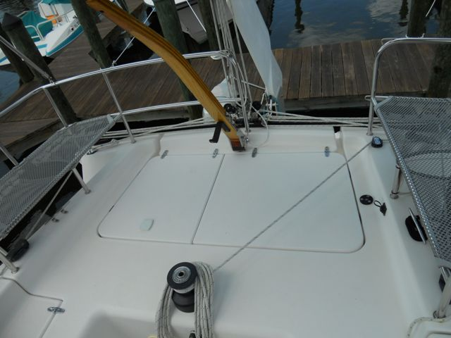 Preowned Sail Catamarans for Sale 2005 Corsair 36 Deck & Equipment