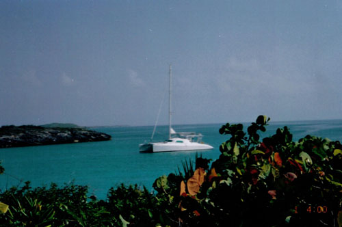 Preowned Sail Catamarans for Sale 1998 Ocean Cat  Boat Highlights