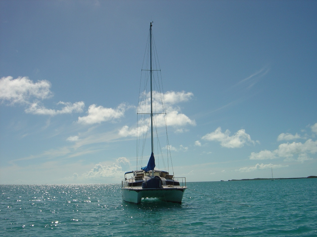 Preowned Sail Catamarans for Sale 1992 Gemini 3200 Boat Highlights