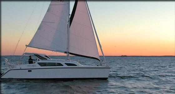 Used Sail Catamaran for Sale 2010 Gemini 105Mc Boat Highlights
