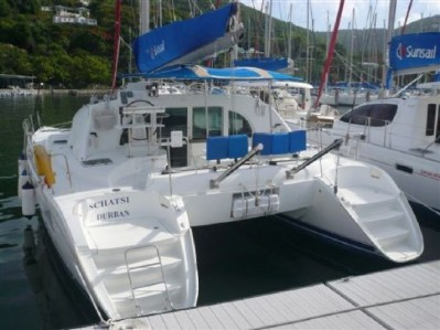 Preowned Sail Catamarans for Sale 2005 Lagoon 380 S2 Boat Highlights